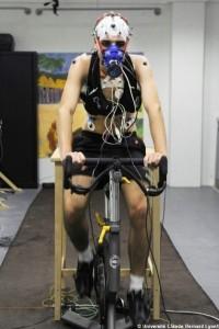 Vélo mesurer l'effort