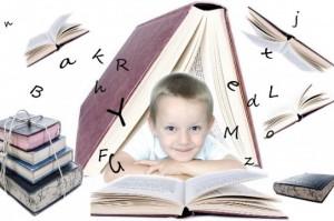 Livre, enfant et lecture.